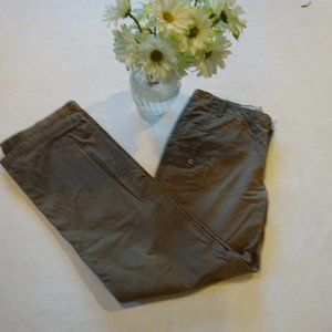 Columbia Brown Slacks size 10.